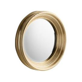 image-Laura Round Golden Wall Mirror