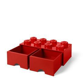 image-Brick Toy Box LEGO Finish: Red
