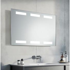 image-Chaz LED Illuminated Bathroom Mirror Metro Lane Size: 63cm H x 100cm W x 3.2cm D