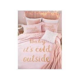 image-Catherine Lansfield Baby It&RsquoS Cold Outside Christmas Duvet Cover Set