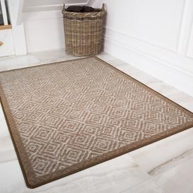 image-Moroccan Beige Washable Rug