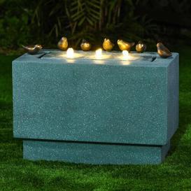 image-Semillon Concrete Fountain with Light Sol 72 Outdoor