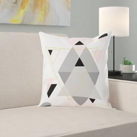 image-Zane Shapes Cotton Cushion Mercury Row