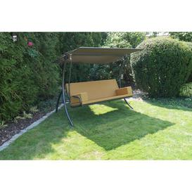 image-Bulgera Swing Seat with Stand Sol 72 Outdoor Colour (Cushion): Yellow