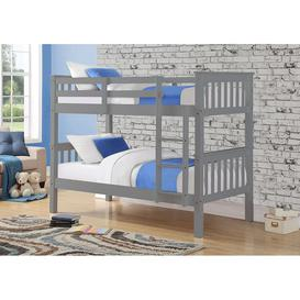 image-Sweet Dreams Casper Grey Bunk Bed