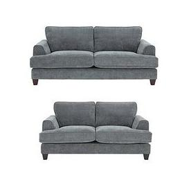 image-Camden 3 Seater + 2 Seater Fabric Sofa Set (Buy And Save!)
