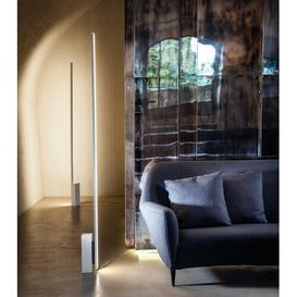 image-Linescapes Linear 19cm LED Floor Lamp Nemo Base Finish: White, Colour Temperature: 2700K