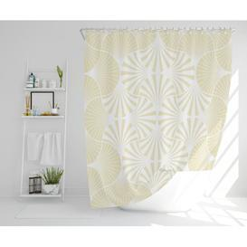 image-Kesha Polyester Shower Curtain Set Canora Grey Size: 177cm H x 177cm W