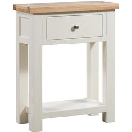 image-Dorset Ivory Painted Small Console Table - Devonshire Furniture