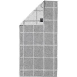 image-Two-Tone Hand Towel Caw├╢ Colour: Platinum