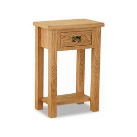 image-Salisbury Lite Oak Telephone Table
