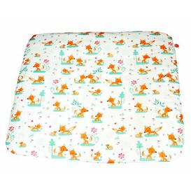 image-Sweet Foxes Changing Mat Cover MilleMarille Size: 75cm W x 85cm D