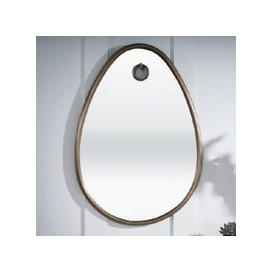 image-Belgrave Wall Mirror Oval In Antique Brass