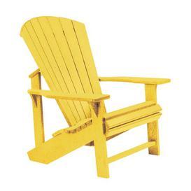 image-Lomba Lounge Chair Dakota Fields Frame Finish: Yellow