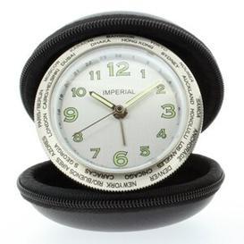 image-Table Clock Symple Stuff Colour: Black