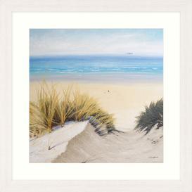 image-Caroline Atkinson - Pathway Through The Dunes II Framed Print & Mount, 65 x 65cm