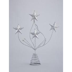 image-Festive 28 Cm Glitter Star Christmas Tree Topper