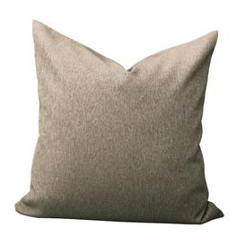 image-Quade Pillow Cover Set August Grove Colour: Tan, Size: 50 x 50cm