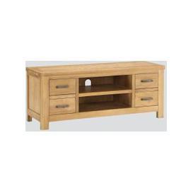 image-Andorra Washed Oak Straight TV Unit