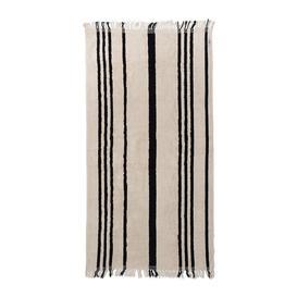 image-Business & Pleasure Co - The Beach Towel - Vintage Black Stripe