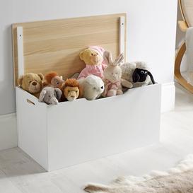 image-White Lift Off Lid Storage Box White