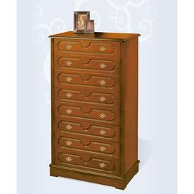 image-Aubrie 8 Drawer Chest of Drawers Rosalind Wheeler Finish: Lacquered White