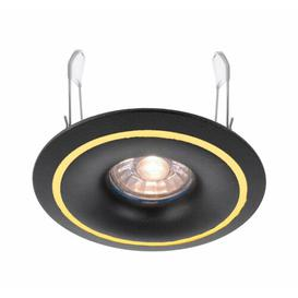 "image-Caeli 10"" LED Slim Profile Recessed Lighting Kit Deko Light Colour: Black"