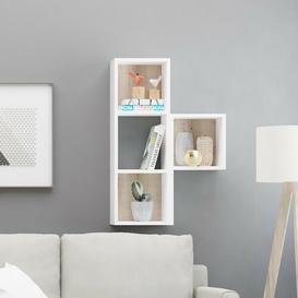 image-Celie Wall Shelf Ebern Designs Finish: Oak