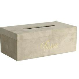image-Deangelis Tissue Box Cover Fairmont Park Colour: Cream