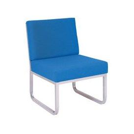 image-Segura Reception Skid Base Chair, Light Grey/Wine, Free Standard Delivery