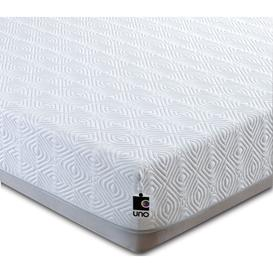 image-Breasley UNO 1000 Memory Pocket Spring Mattress - 4ft 6in Double