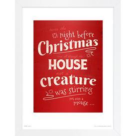 image-Christmas House' Framed Textual Art