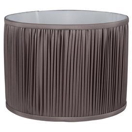 image-Silk Drum Lamp Shade Fairmont Park Size: 29cm H x 45cm W x 45cm D, Colour: Taupe