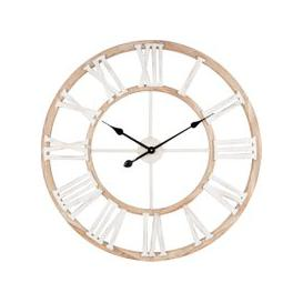 image-Natural-Coloured and White Clock D70