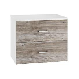 image-Lasso Side Filing Cabinet (Platinum Oak), Platinum Oak