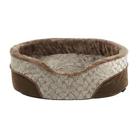 image-Switzer Bolster Cushion Archie & Oscar Colour: Dark Cream, Size: 19 cm H x 48 cm W x 37 cm D