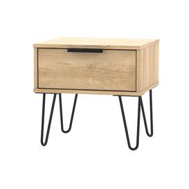 image-Falls City 1 Drawer Bedside Table Mercury Row