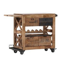 image-Dedmon Serving Cart Williston Forge