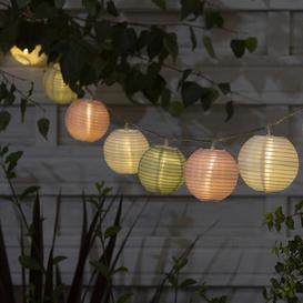 image-Multi-Coloured Lantern Outdoor String Lights