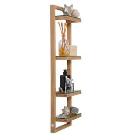 image-Wireworks Zone Wall-Mounted Bathroom Shelves