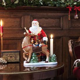 image-Christmas Toys Memory Santa with Stag Figurine Villeroy & Boch