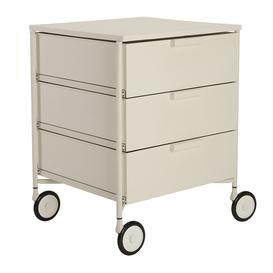image-Kartell - Mobil Mat 3 Drawer Wheels - White