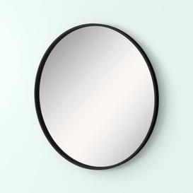 image-Amaliya Accent Mirror Hashtag Home Finish: Black