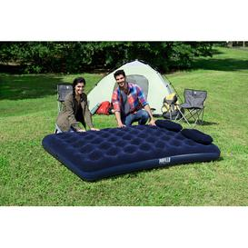 image-Bestway Airbed Queen & Manual Hand Pump