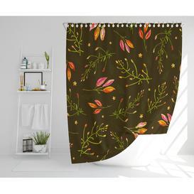 image-Judique Polyester Shower Curtain Set Rosalind Wheeler