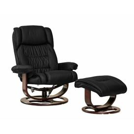 image-Robb Manual Swivel Recliner with Footstool Latitude Run