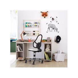 image-Lifetime Kids Desk on Castors - Lifetime Whitewash