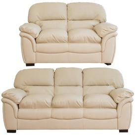 image-Sarno 2 Piece Sofa Set Brayden Studio Upholstery Colour: Cream