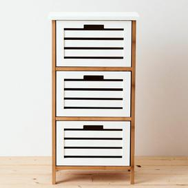 image-White Sands 45 x 85cm Free-Standing Bathroom Cabinet Butlers