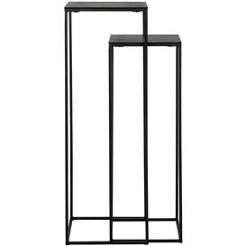 image-Bollard Black Pillar (Set of 2)